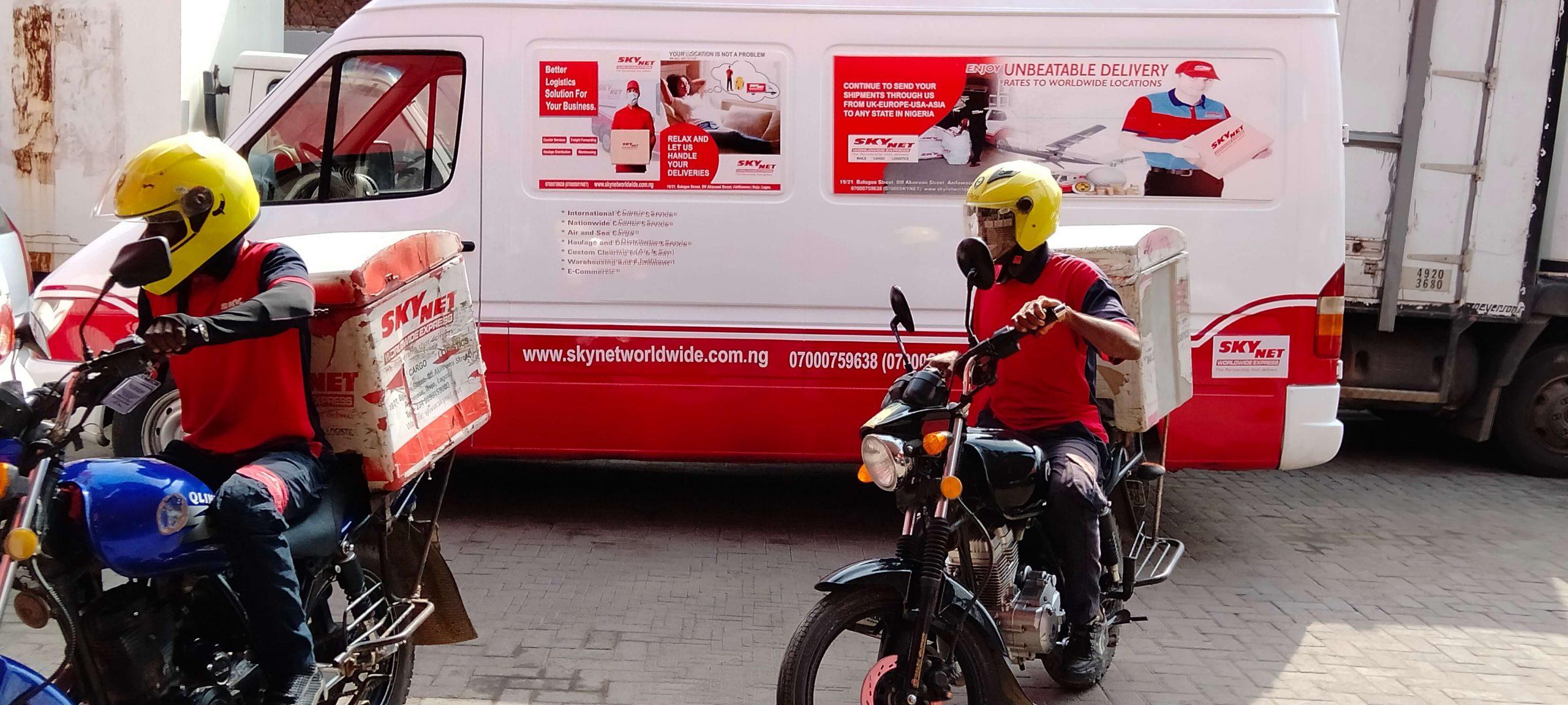 logistics company in Lagos - SkyNet