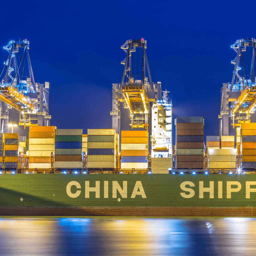 ship from china to nigeria